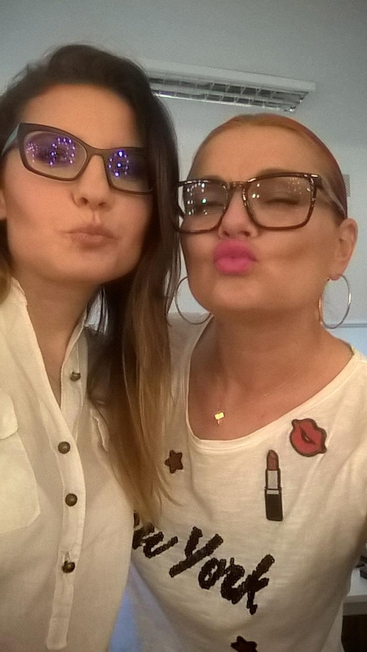 Ania Dębska i Ewa Gil