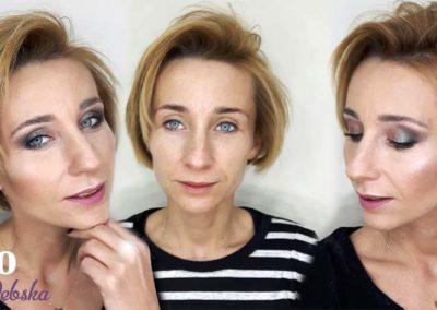 indywidualna lekcja wizażu makijażu