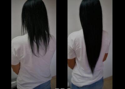 Doczepianie i przedłużanie włosów