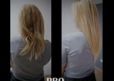 Przedłużanie włosów - doczepianie