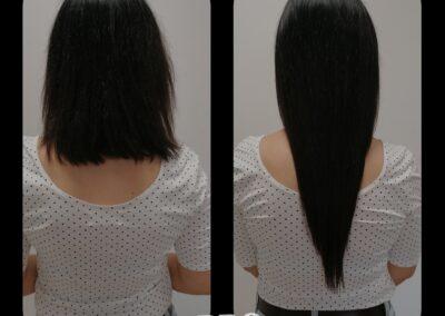 Doczepianie włosów - przedłużanie